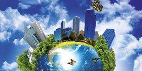 """Ausschnitt Plakat Ringvorlesung """"Smart Economy"""" DGB/TU 2013/2014"""