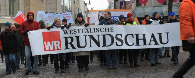 Demonstration am 19.01.2013