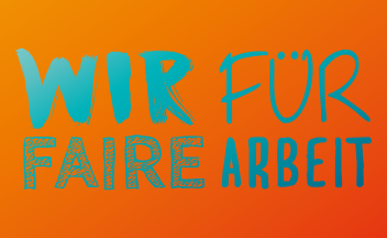 Wir für faire Arbeit: Motto der Bezirkskonferenz des DGB NRW 2017