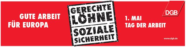 Banner 1. Mai 2012